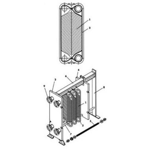 Теплообменник vt 40hvk cd устройства для промывки теплообменнико